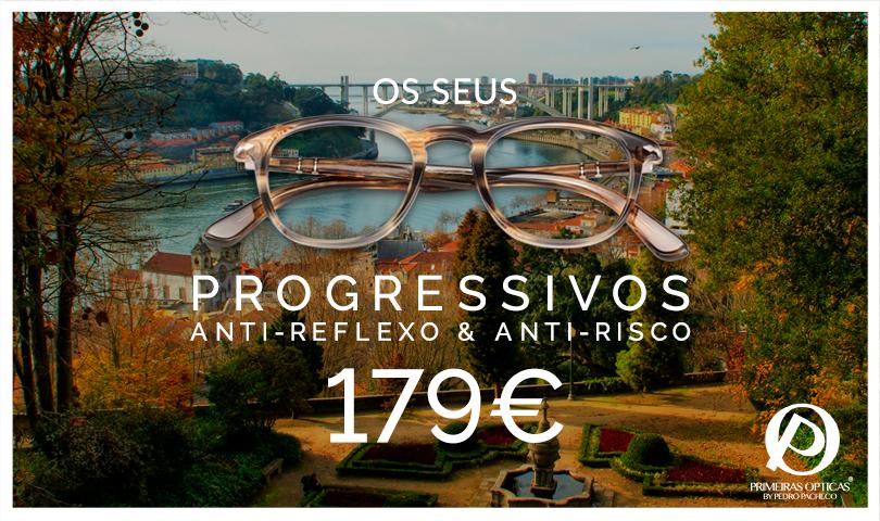 Já conhece a campanha de óculos progressivos das Primeiras Opticas?