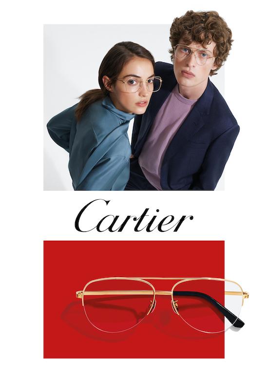 Armacoes de oculos Cartier
